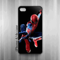 iPhone 4 4s Hard Case - Marvel The Amazing Spiderman Cool Style - iPhone Cover IP4 (Black / White Or Clear Case Color)