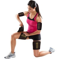 TNT Body Wraps for Arms and Slimmer Thighs - Lose Arm Fat & Reduce Cellulite - 4 Piece Kit (Small)