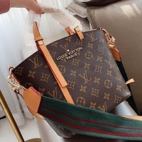 LV Louis Vuitton New fashion monogram leather handbag shoulder bag crossbody bag