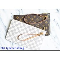 LV Louis Vuitton Popular Women Monogram Small Bag Coin Bag Key Bag Zipper Wallet I/A