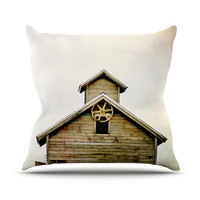 """Angie Turner """"Barn Top"""" Throw Pillow, 18"""" x 18"""" - Outlet Item"""