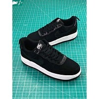 Nike Air Force 1 Low Af1 Black White Sport Shoes
