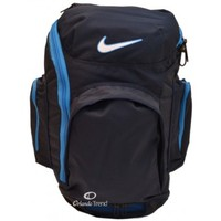 Nike Backpack Hoops XXL Blue Basketball Ball Carry for 15 inch Laptop Bag BA3201