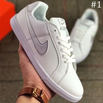 Nike Tennis Classic 2018 new wild casual fashion white shoes F-A-FJGJXMY #1