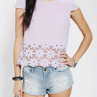 Urban Outfitters - DV By Dolce Vita Story Eyelet Top