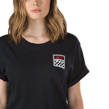 Square Pegged Boyfriend T-Shirt | Shop at Vans