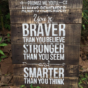 Promise Me Pallet sign. Rustic Decor. Home Decor. Rustic signs.Fixer Upper. Chose size and color at checkout.