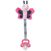 Butterfly Pacifier Clip