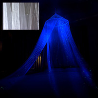 Glow in the Dark White Star Canopy - surround your bed with stars - a romantic night light that glows all night