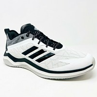 Adidas Speed Trainer 4 White Black Carbon CG5145 Mens Baseball Wide Shoes