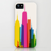 Shapes of NYC. Accurate to scale iPhone & iPod Case by Yoni Alter