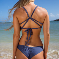 Boys and Arrows Clairee the Criminal Bottom in Cobalt -XS -Final Sale