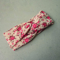 Country Floral Head band from Love What's Missing