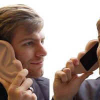 Funny Big Ears Case For Iphone 4/4s