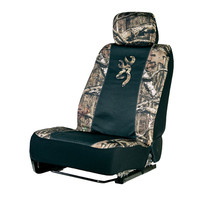 Browning Buckmark Mossy Oak Camo Low Back Seat Cover