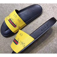 shosouvenir  Gucci Casual Fashion Women Man Sandal Slipper Shoes