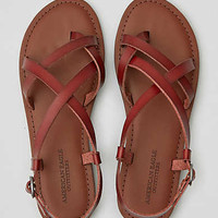 AEO Strappy Sandal , Brown