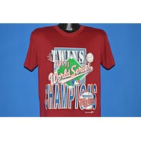 90s Minnesota Twins 1991 World Series Champs t-shirt Large