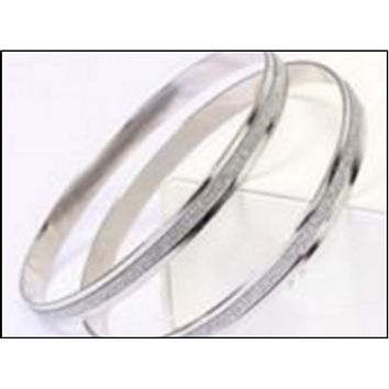 Cher Elegance Silver Bangle