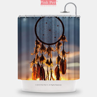 Dream catcher and Sunset Clouds Shower Curtain Home & Living 060
