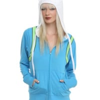 Adventure Time Finn Costume Girls Hoodie
