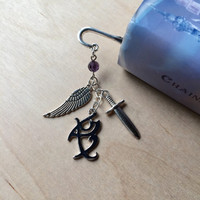 Shadowhunter Rune Feather Bookmark Angelic Power Iratze Love Fearless The Mortal Instruments MI-04