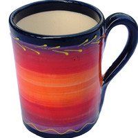 Mug (Luna Design) - Hand Painted in Andalucia, Spain