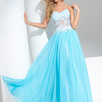 Sweetheart Corset Bodice Prom Gown By Tony Bowls Le Gala 115573
