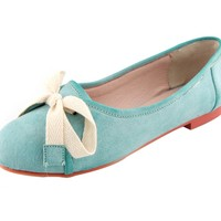 Green Mary Poppins Loafers