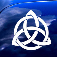 Celtic Trinity Knot Triquetra Car Window iPad Notebook Decal Sticker