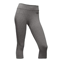 Women's Pulse Capri Tights in Medium Grey Heather by The North Face