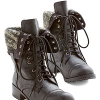 ModCloth Military It's Bold Outside Boot