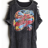 Harley Davidson Biker Tee Shirts,Sexy & Rocker! All Sizes