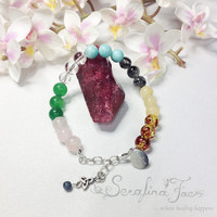 Fibromyalgia Pain Holistic Pain Relief Natural Crystal Healing Spiritual Jewelry Healing Jewelry Reiki Jewelry Gifts for Her Gifts for Him