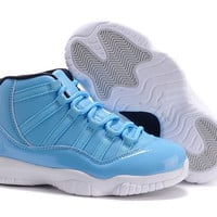 2015 Newest Retro AJ11 For Children's Basketball Shoes china jordan J11 Retro kids Basketball Shoes Sports Sneakers Free Shipping 28-35