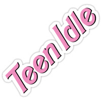'teen idle' Sticker by emably