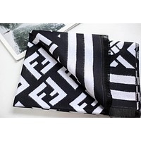 Fendi men and women fashion accessories comfortable cashmere scarf silk shawl size:180*70
