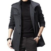 Men Plus Size Coat Hot Sale Jacket [6528920835]