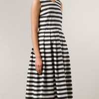 Sofie D'hoore Striped Flare Dress - A'maree's - Farfetch.com