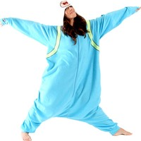 Adventure Time Finn the Human Hooded Kigurumi Pajama Costume