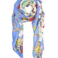 Tangled Garden Silk Square by Juicy Couture, O/S