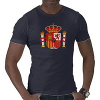 Spain Coat of Arms T-shirt from Zazzle.com