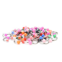 10 Pcs OR 20PCs Trendy Eyebrow Piercing Lip Tongue Nose Navel Belly Button Studs Body Piercing