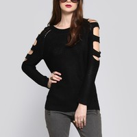 Hide and Seek Sweater - Tops - Clothes | GYPSY WARRIOR