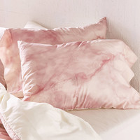 Chelsea Victoria For DENY Rose Gold Marble Pillowcase Set   Urban Outfitters