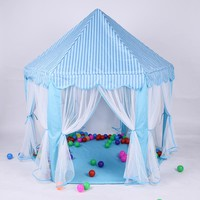 Portable Princess Castle Play Toy Tent
