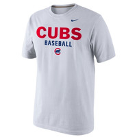 Nike Chicago Cubs 2014 Home Practice T-Shirt - White