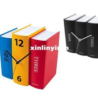 2016 Karlsson Books Clock Personalized Books Clock Vintage American Clock Gift Christmas Gifts From Xinlinyiran, $28.02 | Dhgate.Com