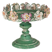 Small Floral Cakestand