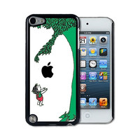 iPod 5 Touch Case - Thin Shell Plastic Case iPod Touch 5G Case -The Giving Tree